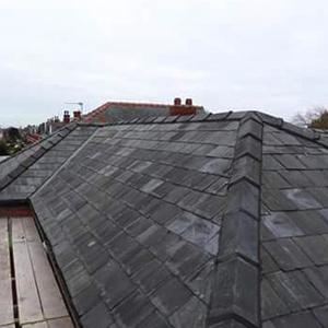 new slate roof