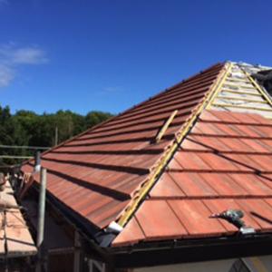 professional roofer hesketh