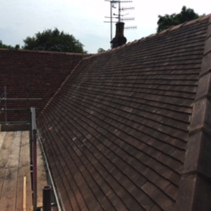 tiled roof repair