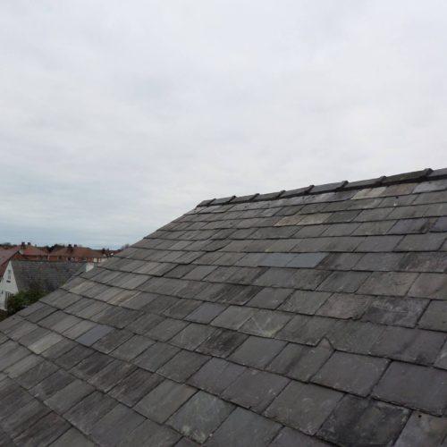 slate roof crosby