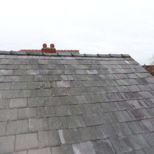 slate roof sefton