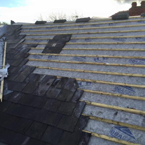 slate roof merseyside