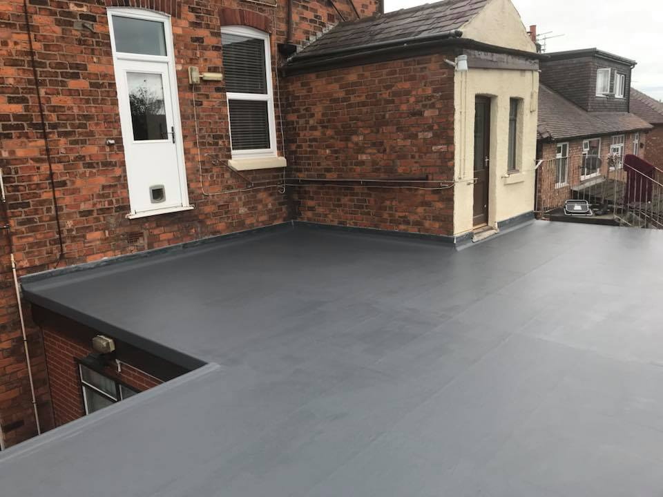 GRP roofing southport