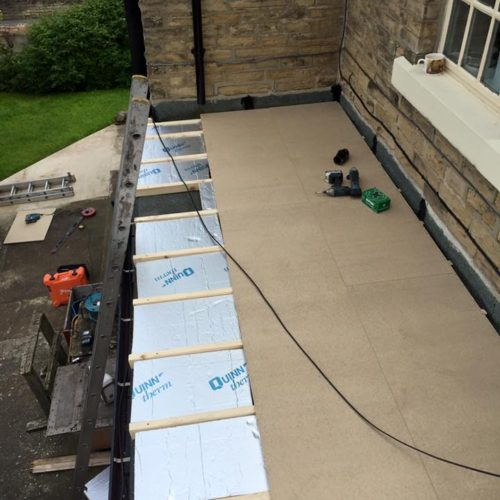 flat roof sefton