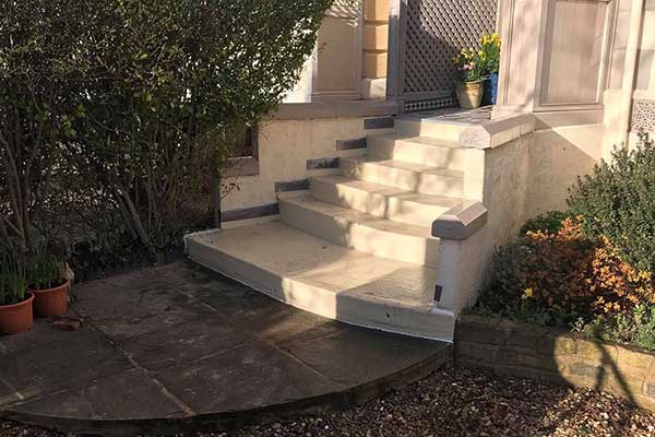 front steps southport