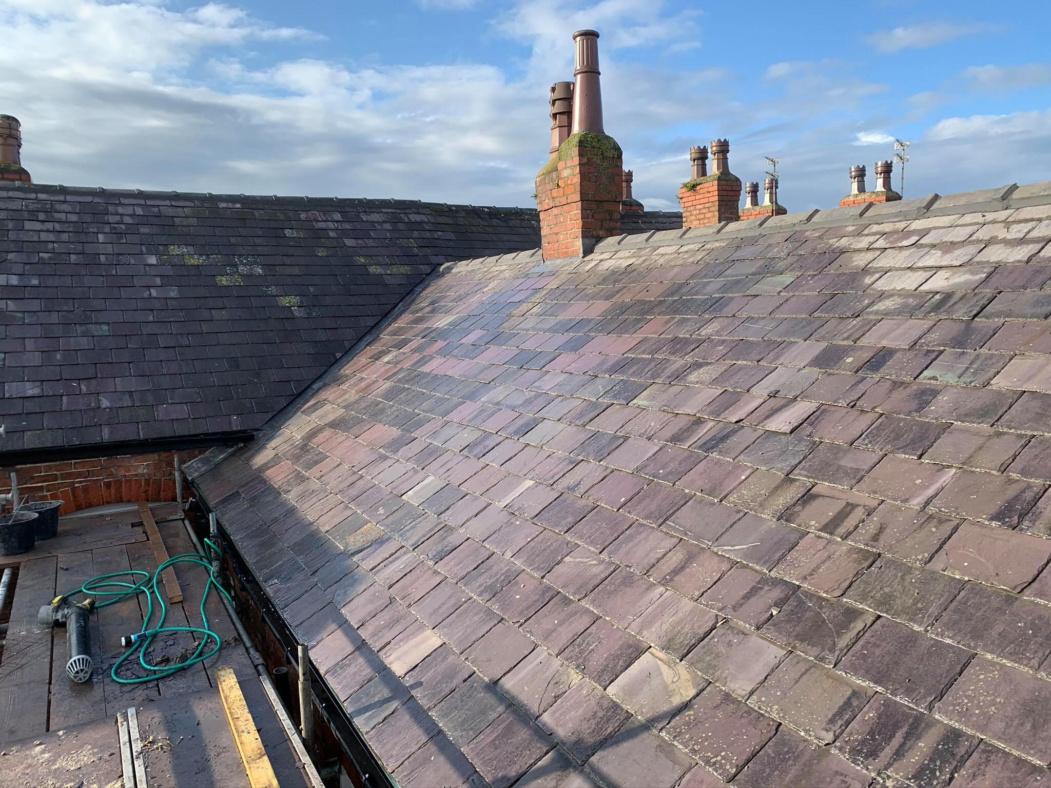 slate roof in warrington