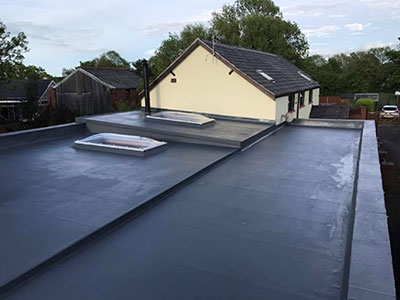 Massive GRP Roof Southport
