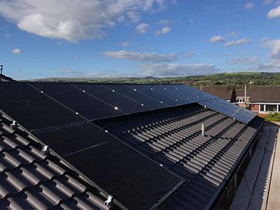 solar panels Tarleton