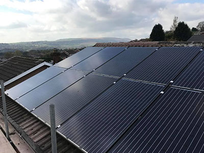 solar panels sefton