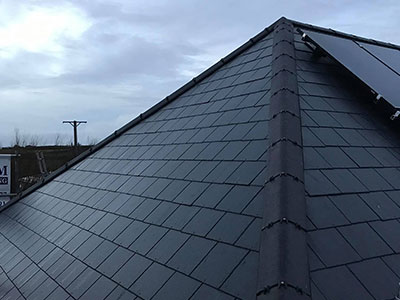 Slate roof repairs in Plymouth