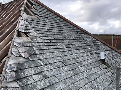 Roof repairs Plymouth