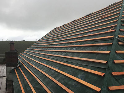 Reliable roofer in Plymouth