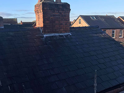 roofing project in prenton