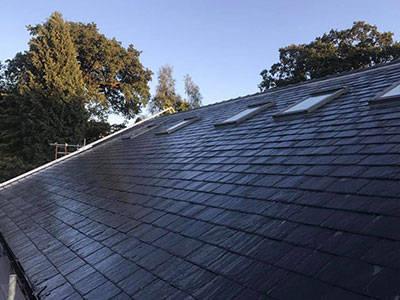 natural slate roofing