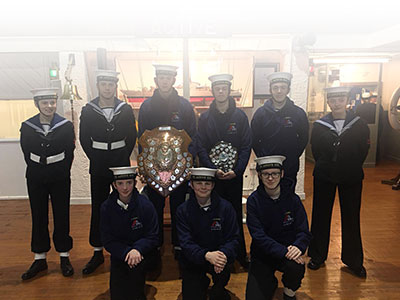 M&J Roofing Sponsors Southport Sea Cadets Armed Guard