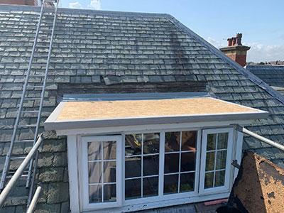 repairing the bay window