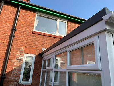 Flat Conservatory Roof Southport