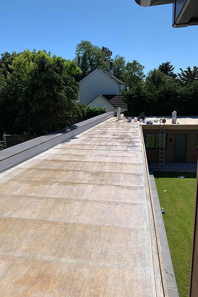 L shaped flat roof in widnes