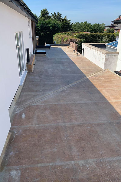 new flat roof in widnes