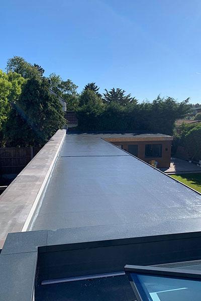 New fibreglass roof in widnes