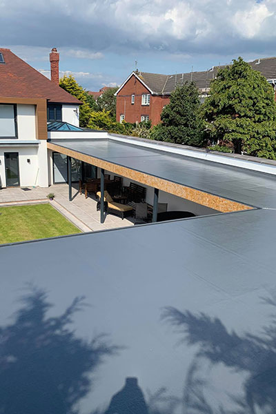 Modern Flat Roof Widnes