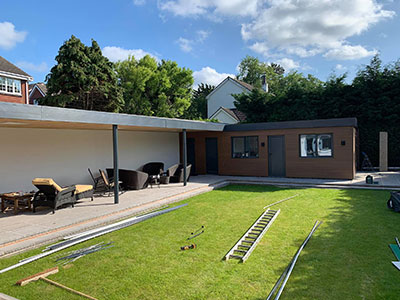 finishing a roof in widnes