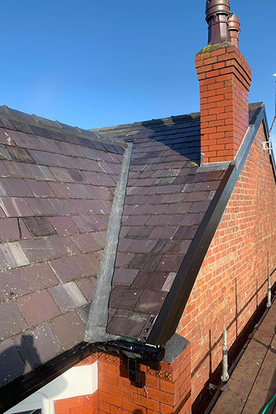 new slate on a roof in warrington