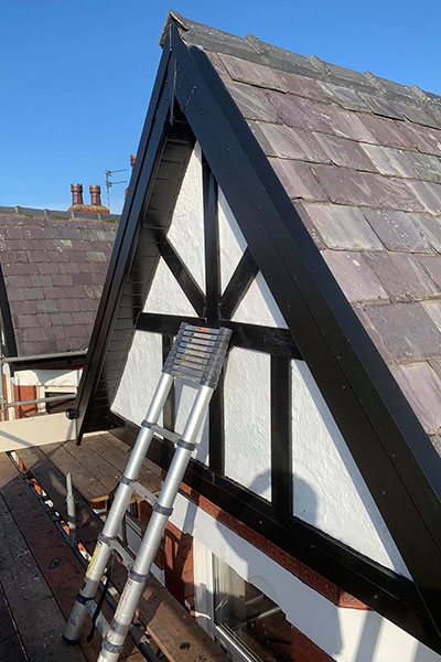 finisking the roofing warrington