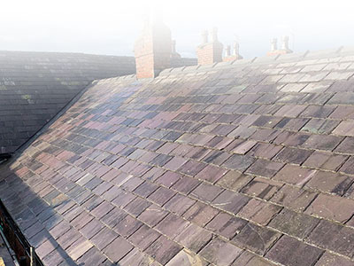 New Slate Roof Warrington