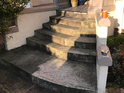 the old steps