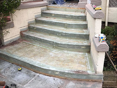 new steps and porch southport