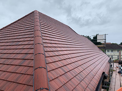 red tiled roof in southport