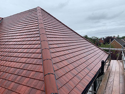 red tile re-roof southport