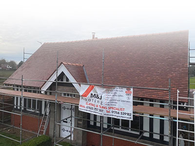 New Tiled Roof Bamber Bridge