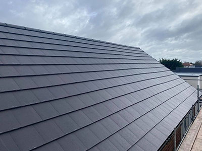 new tiled roof burscough