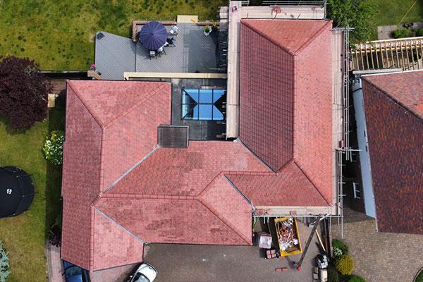 new roof halsall