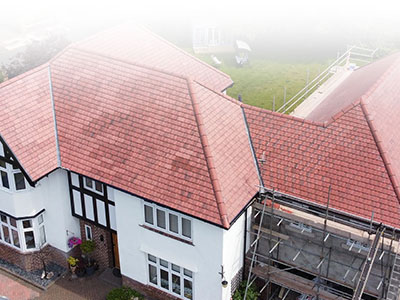 Large Tiled Roof Halsall