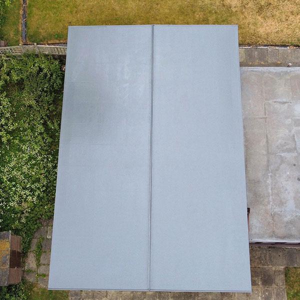 fibreglass roof parbold