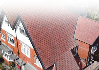 Red Tiled Roof St Helens